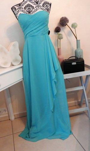 NEU - Vera Mont schulterfreies edles Abendkleid Abiball Hochzeit Brautjungfer Gr. 36
