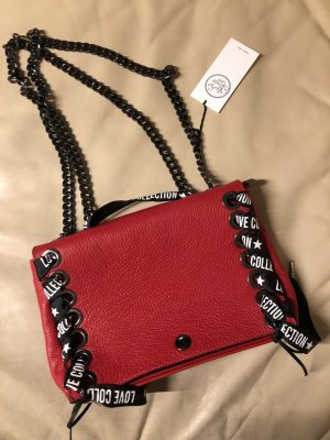 NEU Vera Pelle Handtasche echtes Leder Love Collection Studio Moda