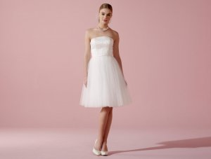 Lilly Wedding Dress white-natural white polyester