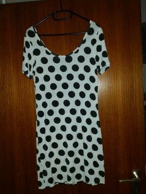 NEU Verkaufe Kleid Gr. L von ONLY in weiß mit schwarzen Punkten