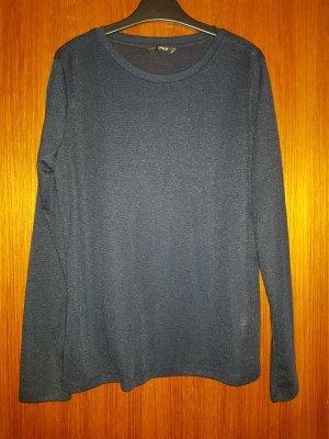 NEU Verkaufe ungetragenen Pullover Gr. M von ONLY in dunkelblau/glitzer