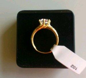 Ring goud-zilver