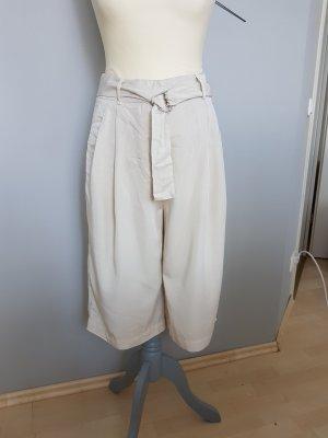 NEU - Vero Moda – beige Hose 7/8- weites Bein – knielänge