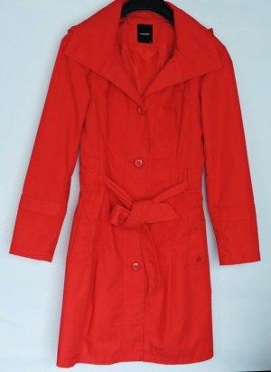 Neu Vero Moda Jacke Größe M Damenmantel-Trenchcoat rot