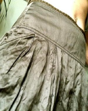 NEU!  VERO MODA Rock Skirt S-M 34 Satin Bronze