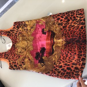 Versace for H&M Robe Babydoll multicolore