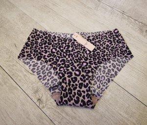 Victoria's Secret Pantalone pigiama nero-lilla