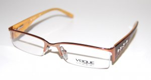 Vogue Glasses bronze-colored synthetic material