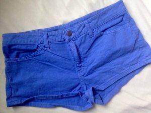 Neu W 30 American Apparel Shorts royalblau Denim