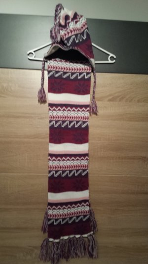 *NEU Ware: Trendiger Schal & Mütze Set BUNT