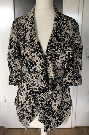 NEU Warehouse Leopard Blazer UK8 XS 34 Übergang Jacke Animal Print Muster Bluse