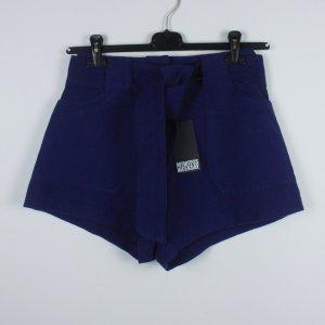 Weekday Skort bleu foncé coton