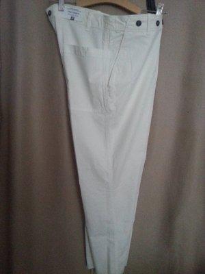 neu, weiße Hose von Zara Gr.42;Baumwolle