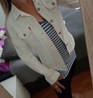 NEU - Weiße Jeansjacke von Levis