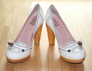 NEU weiße Pumps Schuhe von Hard Hearted Harlot High Heels Gr. 36 – Hochzeit, Brautschuhe, Fest