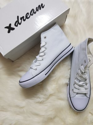 High Top Sneaker white