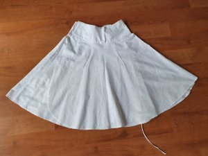 Wraparound Skirt white
