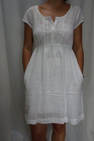 NEU: weißes Sommerkleid, VERO MODA, Leinen, Gr S,