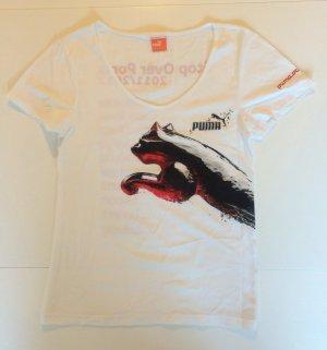 Neu Weißes T-Shirt von Puma.
