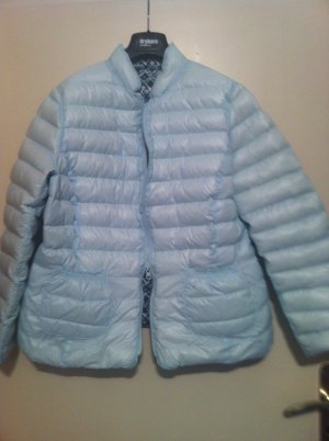 Apanage Down Jacket light blue-black polyester