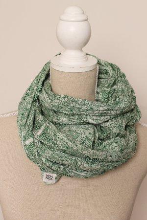 * neu wertig * Noa Noa Schal Tuch grün florales Muster