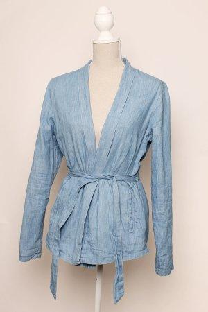 * neu wertig * Promod Jeans Blazer Jacke 40 l - blau