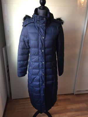 NEU Wintermantel Steppmantel dunkelblau