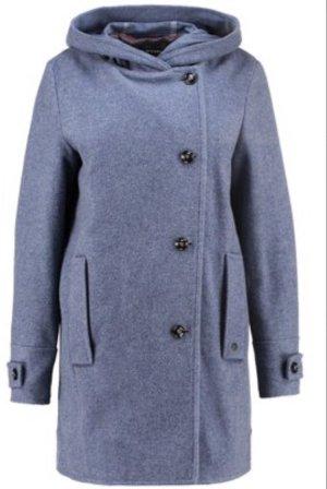 Marc O'Polo Wool Coat azure-cornflower blue wool