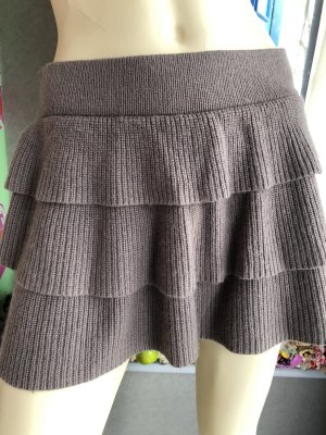 Orsay Jupe tricotée gris brun
