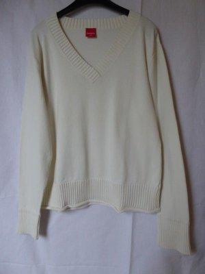 NEU: Wollweißer Pullover von Manguun