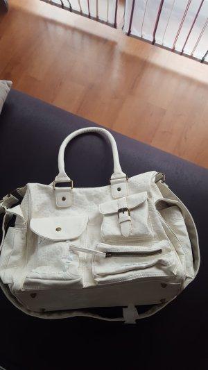 Desigual Carry Bag natural white