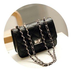 NEU Wunderschöne Damentasche Clutch in Schwarz Schultertasche Abendtasche