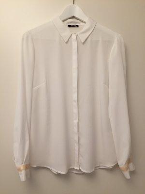 NEU | Wunderschöne semitransparente Bluse mit leichtem Schimmer