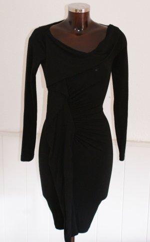 neu! XS 34 ● PLEIN SUD JEANIUS ● STRETCHKLEID gerafft Luxus Kleid