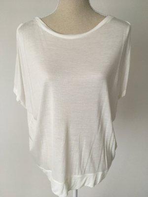 NEU * Yaya * T Shirt 40 L Boxy Stil weiß