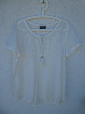 NEU – Yessica – Damen Bluse, cremeweiß