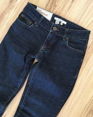 NEU Zara Basic Low Waist Röhren Jeans XS 34 W25 Slim Fit Ankle Skinny Jeans