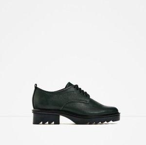 Neu! Zara Blücher Tracksohle Schuhe 36