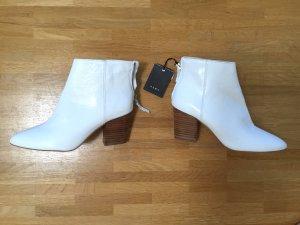 Neu! Zara Echtleder Leder Stiefeletten Ankle Boots 36