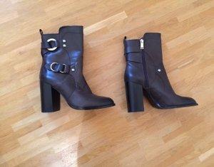 Neu! Zara Echtleder Leder Stiefeletten Boots 36