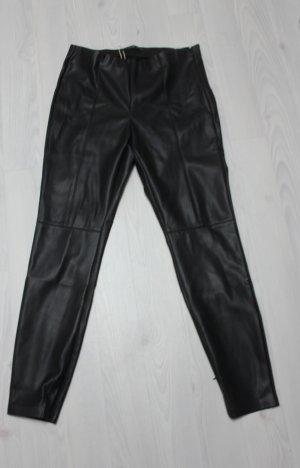 NEU ZARA High Waist Lederhose Größe XL