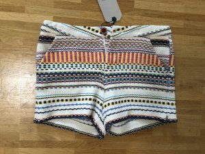 Neu! Zara Hippie Stickerei Ethno Blogger Hotpants Shorts XS 32 34