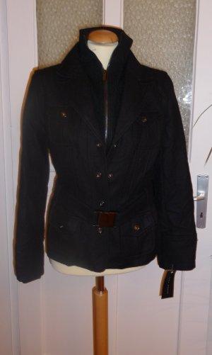 Neu ZARA Jacke schwarz Größe L