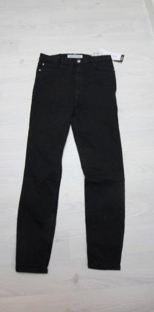 NEU Zara Jeans Hose Super Hi Rise