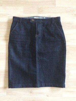 NEU Zara Jeans-Rock - dunkelblau - blue Denim - Tulpenrock - Gr.38 S/M