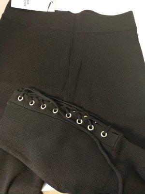 Zara Knit Leggings negro