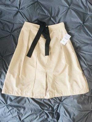 Zara Basic Jupe à plis multicolore
