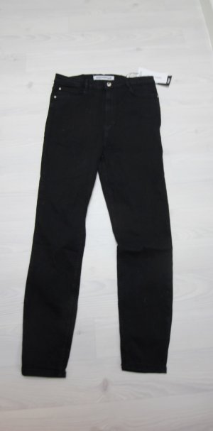 Zara High Waist Trousers black