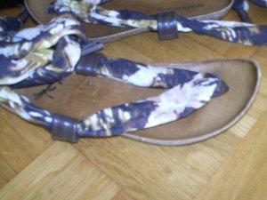 NEU!!! Zehentrenner-Sandalen ( zum Binden) mit Ledersohle