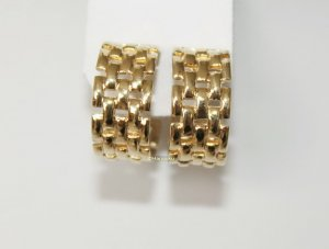 Avon Earclip gold-colored